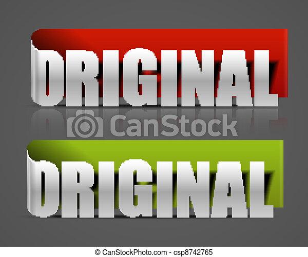 original product promotion  - csp8742765