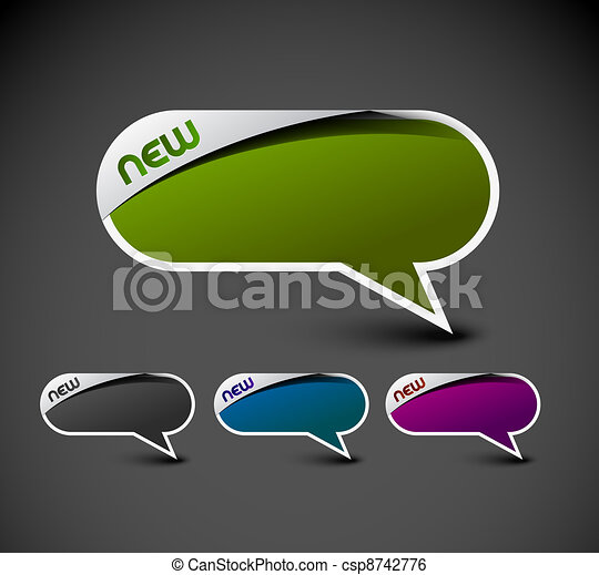 messenger window icon - csp8742776