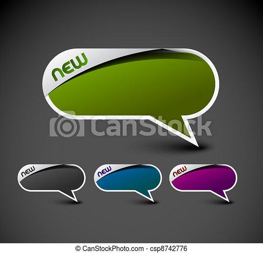 messenger window icon - csp8742776