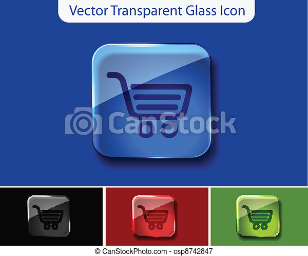 shopping icons - csp8742847