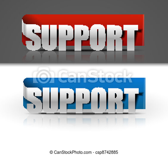 support label web icon design - csp8742885