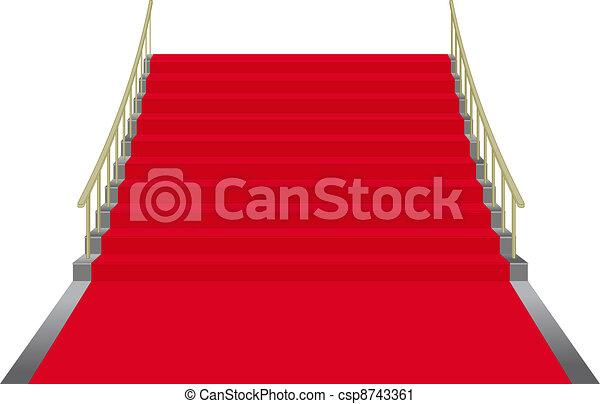 red carpet - csp8743361