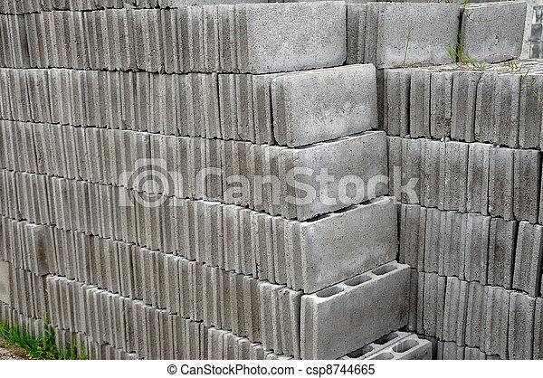 stock bilder von ziegelsteine grau grau ziegelsteine gebraucht f r csp8744665 suchen. Black Bedroom Furniture Sets. Home Design Ideas