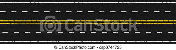 Used Road - csp8744725