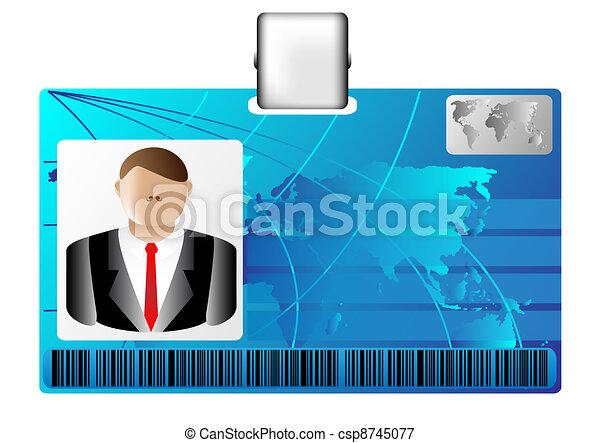 id card - csp8745077
