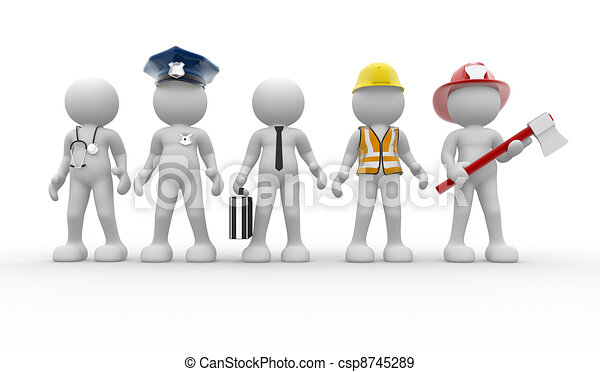 Different professions - csp8745289