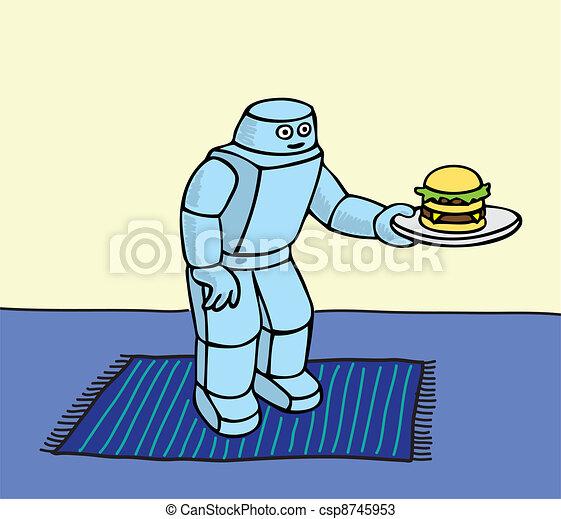 Robot Servant - csp8745953