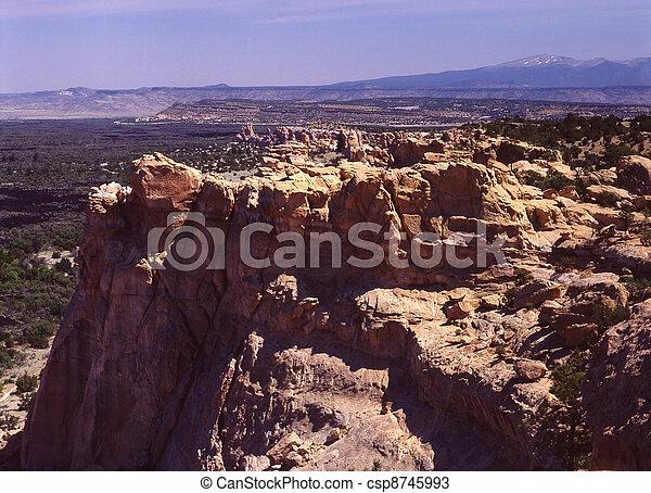 El Malpais National Monument, NM - csp8745993
