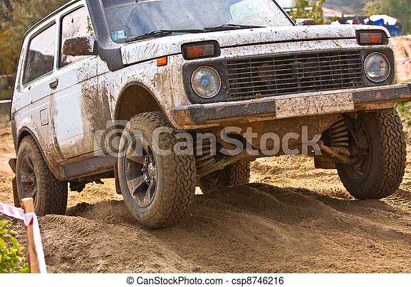 Off roading thrill - csp8746216