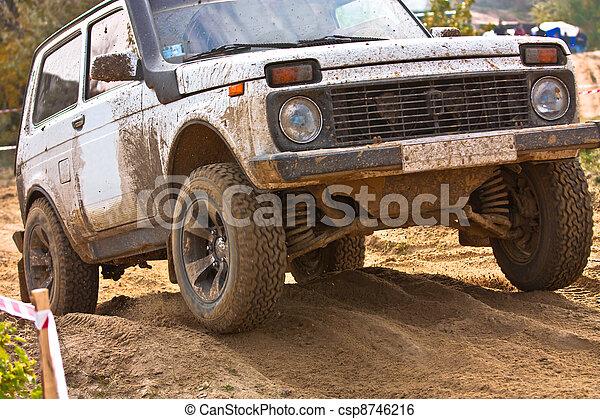 Off roading thrill - csp8746216