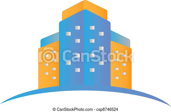 Real estate logo - csp8746524
