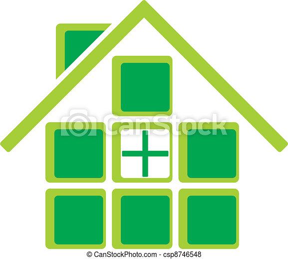 eco friendly house - csp8746548