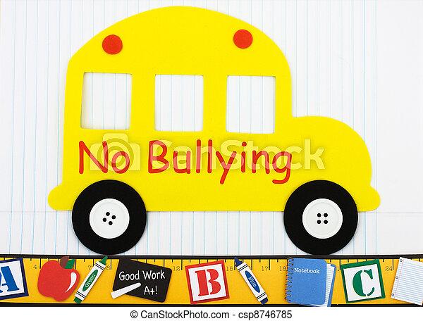 No bullying allowed - csp8746785