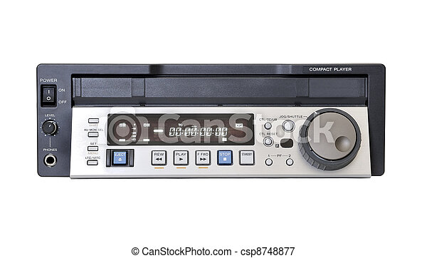 Professional broadcast video player - csp8748877