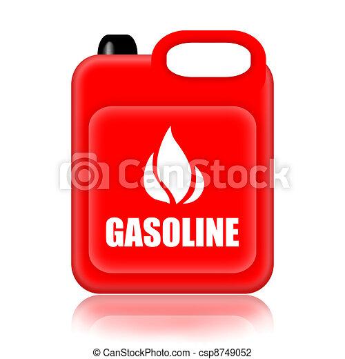 Gasoline Clipart Gasoline Jerrycan clip art