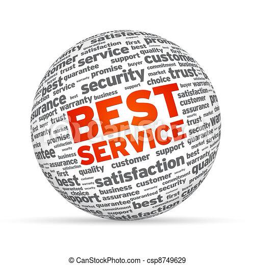 Best Service 3D Sphere - csp8749629
