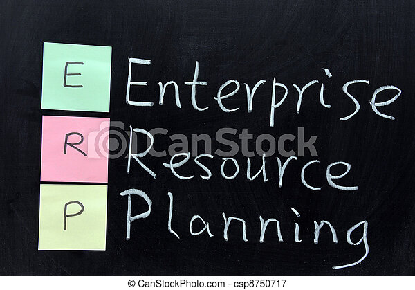 ERP, Enterprise Resource Planning - csp8750717