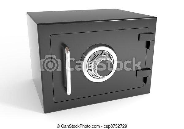 Closed safe. - csp8752729