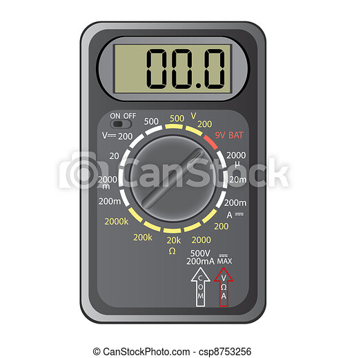 Digital multimeter. - csp8753256