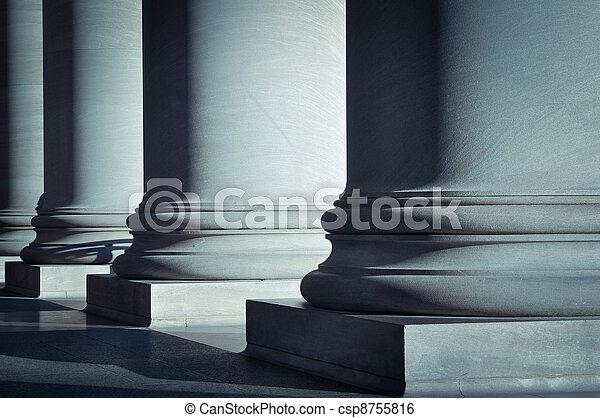 pilares, lei, Educação - csp8755816