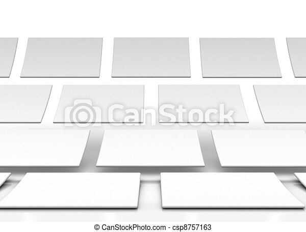 rectangles isolated over a white background - csp8757163