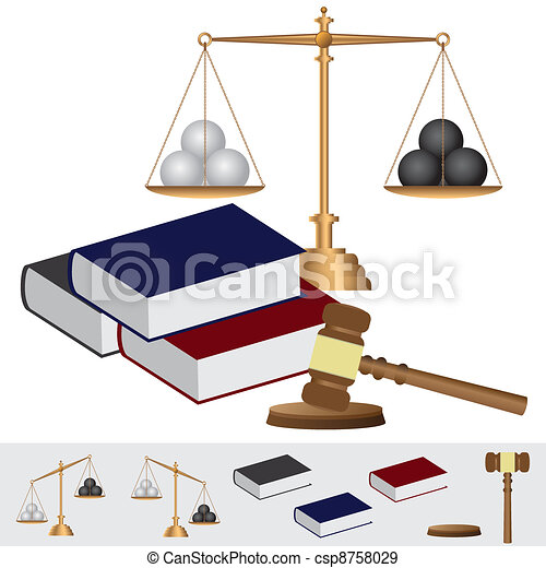 Object about court theme. - csp8758029