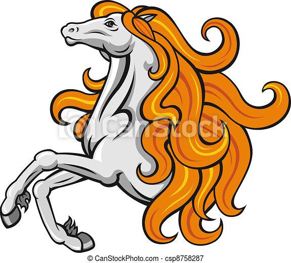 Power stallion - csp8758287