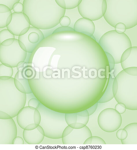 transparency ball with soap bubble - csp8760230