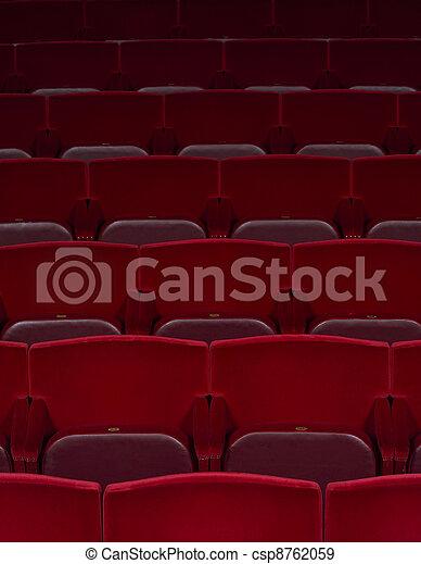 spectators seats - csp8762059