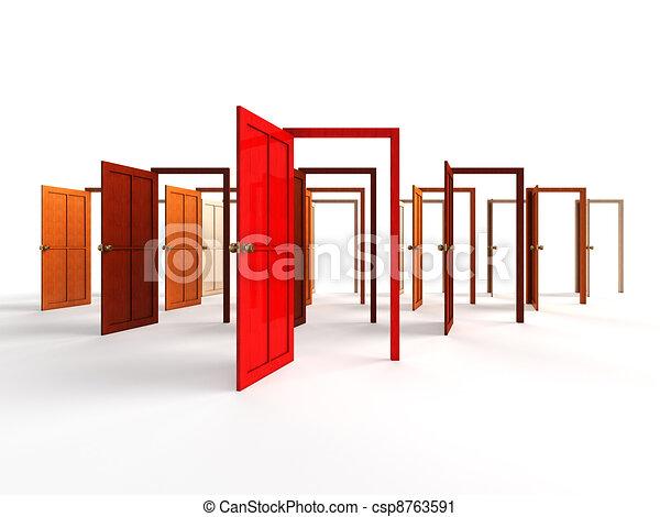 Open doors Clipart and Stock Illustrations. 29,231 Open doors ...