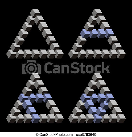 Optical Illusion Logos Optical Illusions Csp8763640