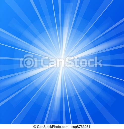 Blue Sunshine - csp8763951