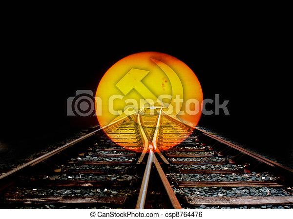 sunset - csp8764476