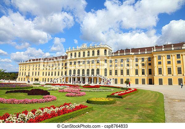 Schoenbrunn Palace, Vienna - csp8764833