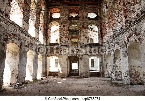 Krzyztopor castle in Poland - csp8765274