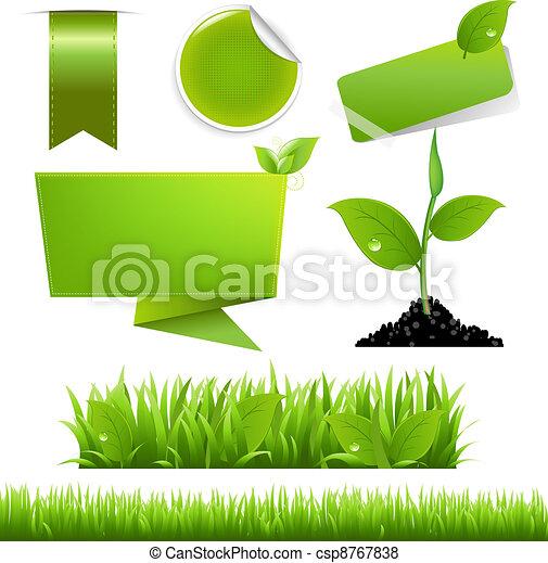 Green Eco Set - csp8767838