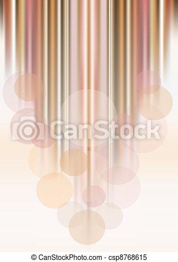 Transparent circles on colored stri - csp8768615