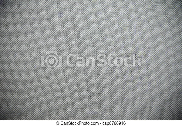Grey fabric texture for background - csp8768916