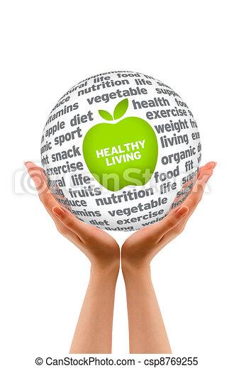 Healthy Lifestyle Sphere - csp8769255