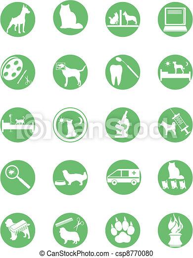 veterinary services - csp8770080