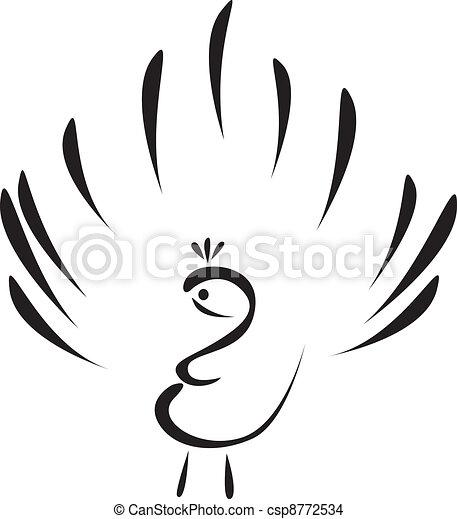 peacock - csp8772534