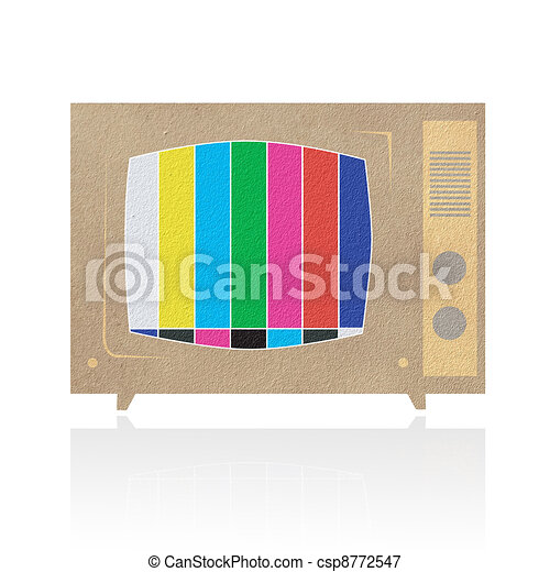 Television ( TV ) icon - csp8772547