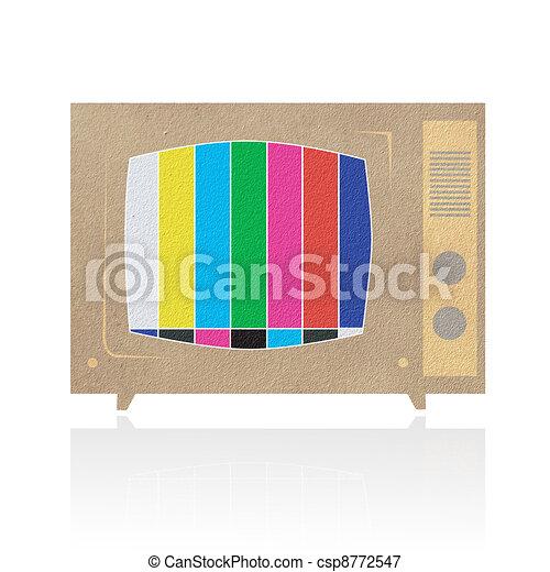 Television ( TV ) icon - csp8772547