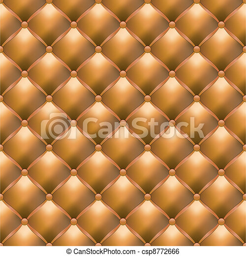 Leather Upholstery Seamless Texture - csp8772666