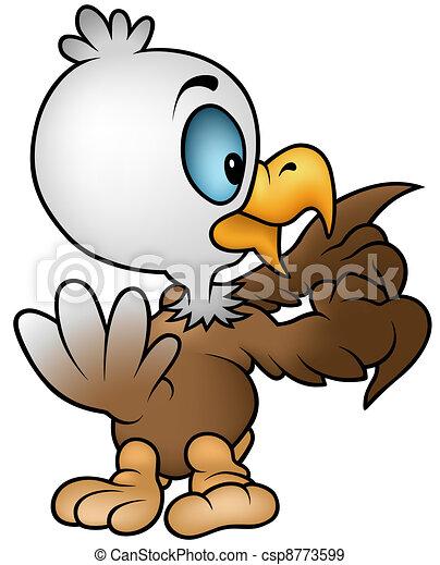 Little Bald Eagle - csp8773599