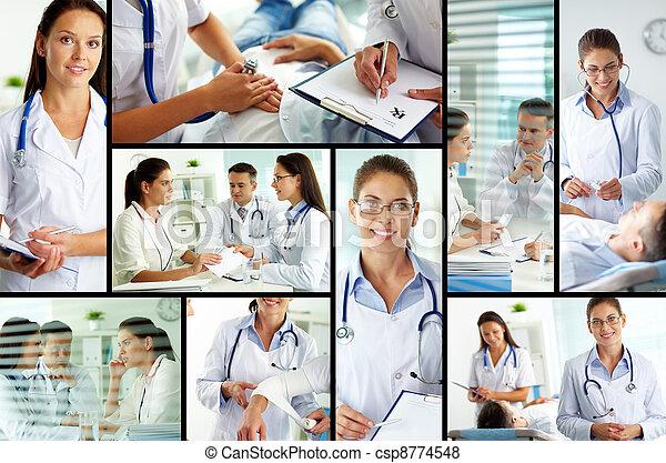 At hospital - csp8774548