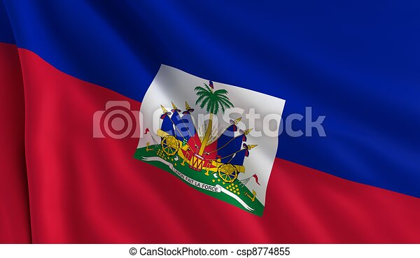 Flag of Haiti - csp8774855