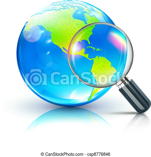 global search concept  - csp8776846