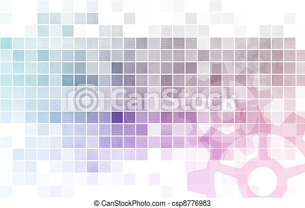 Daten, analyse - csp8776983