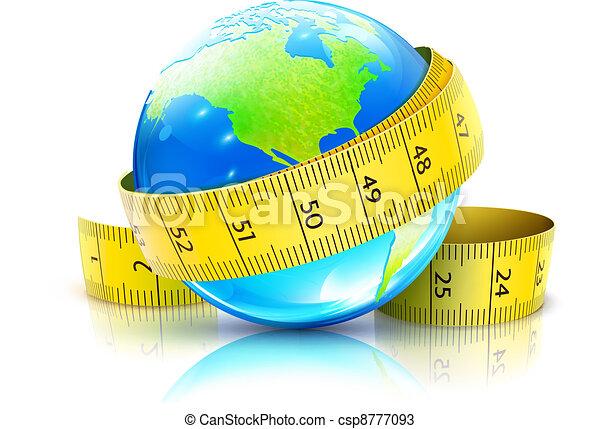 global diet concept - csp8777093